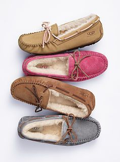 UGG slippers. My feet want these.