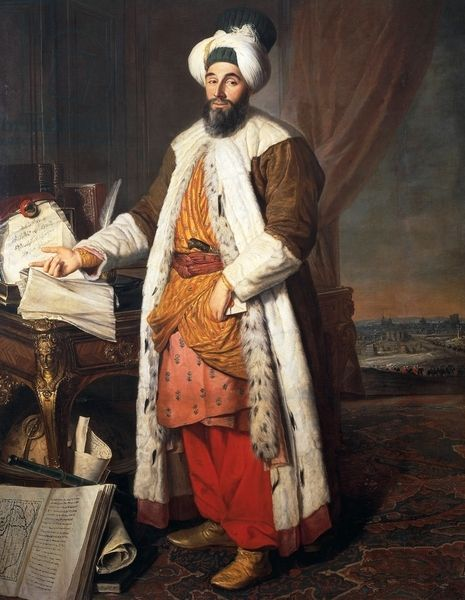 DGA774592 - Portrait of Ahmed III, Sultan of the Ottoman Empire