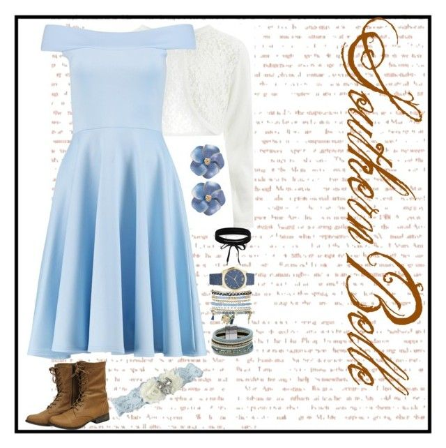 """""""Dolores Abernathy"""" by shamelessuseofcharlie on Polyvore featuring Monsoon, Boohoo, Design Lab and Mixit"""