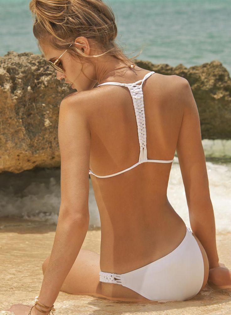 L Space Swimwear - White Mixer