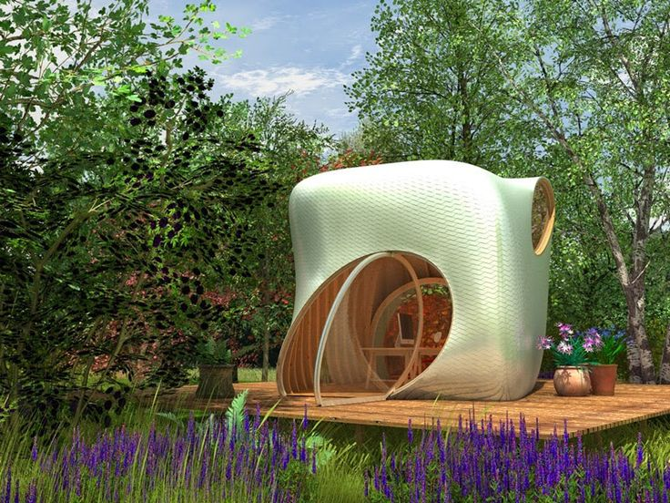 Designer Thomas Paschke Has Been In Touch To Share His Intriguing Garden  Office Design.