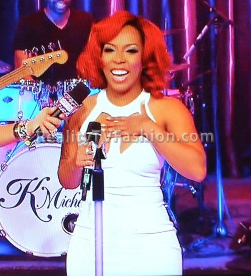 k michelle maxi dress gold
