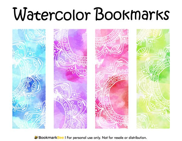 1000 Ideas About Free Printable Bookmarks On Pinterest