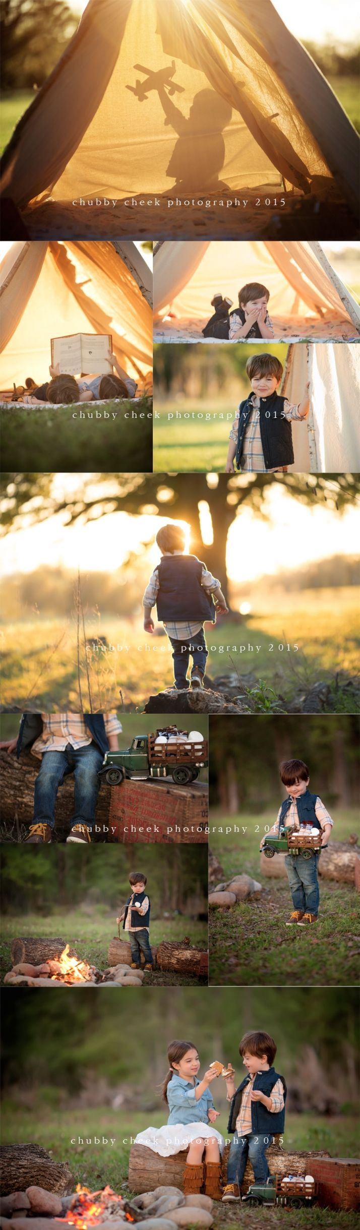 Campfire mini sessions for fall pix