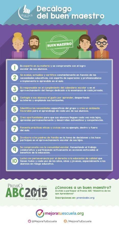 Decálogo del Buen Maestro | Infografía | TIC, TAC, Educació | Scoop.it