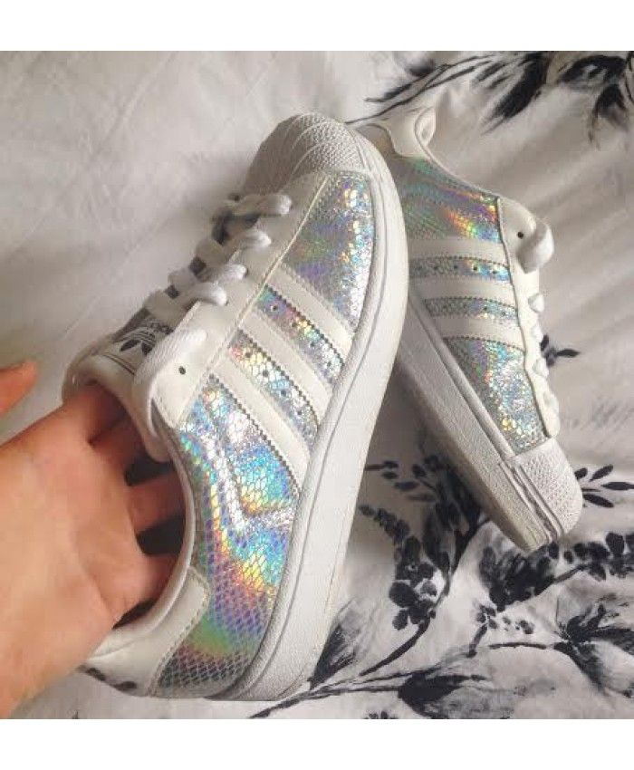 Adidas Originals Superstar II Holographic Silver White Shoes Discounts, absolutely authentic, welcome you to visit, we wholeheartedly for your service.