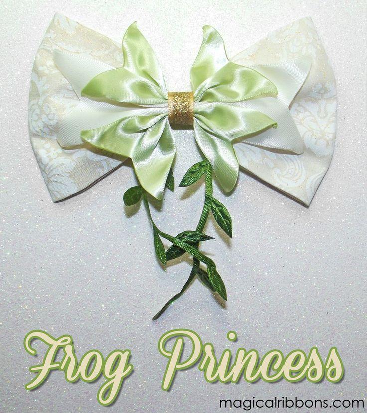 Frog Princess Bow