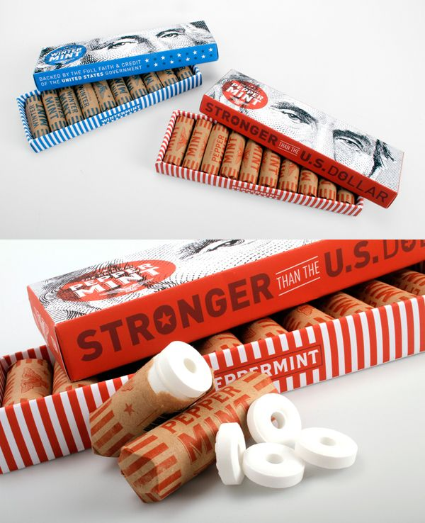 The Original Peppermint Packaging by Cory Etzkorn