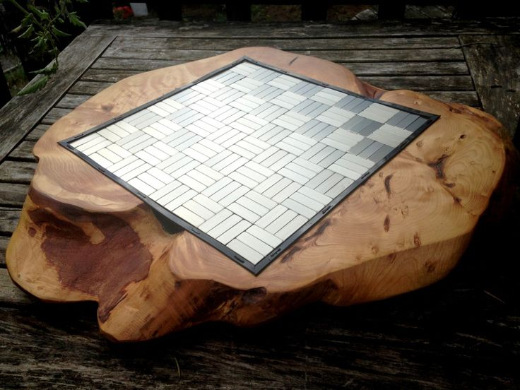 Magnetic Maple Burl Chessboard