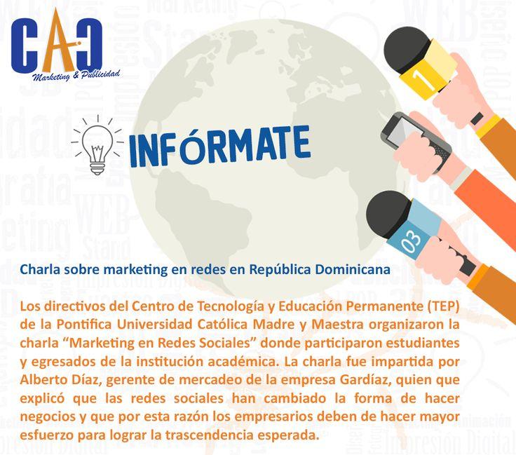 Un martes para informarse con CAC Marketing & Publicidad. #Mercadeo #Marketing
