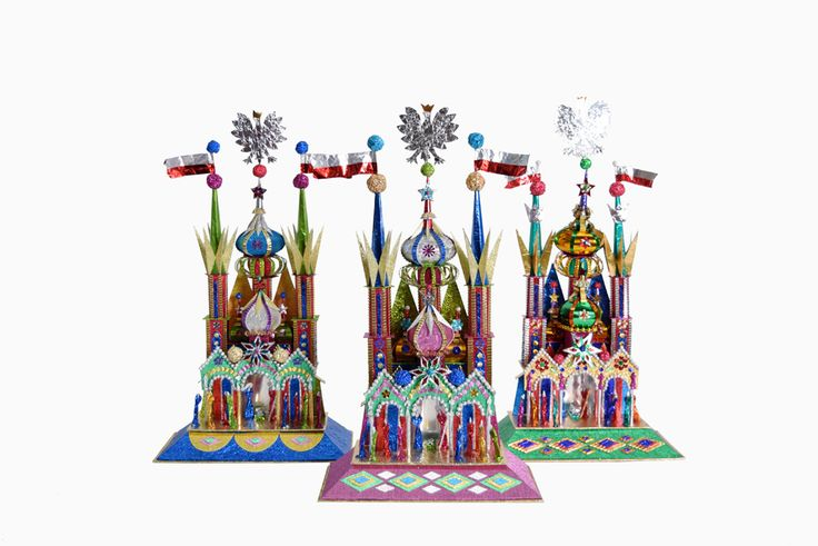 Raj Tents | Shop | Krakow Szopki | Polish Nativity Church (44cm) Size 14 NEW STOCK NOW IN