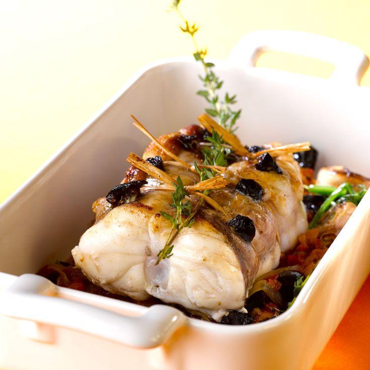 Découvrez la recette lotte au four sur cuisineactuelle.fr.