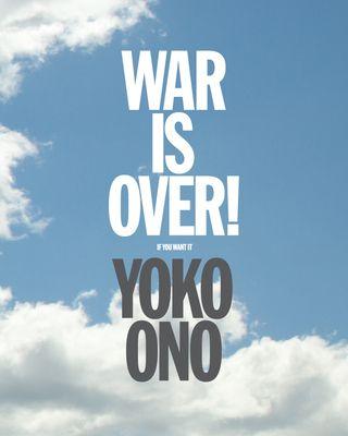 Yoko Ono: WAR IS OVER! (if you want it) HARDCOVER