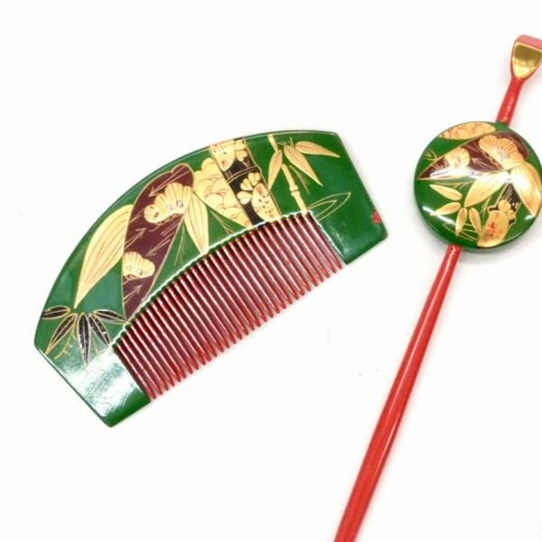 """◆ kimono selector ◆ 1 円 hairpin 2 piece set antique y4534 / [Buyee] """"Buyee"""" Japan Shopping Service 