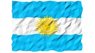 Flag of Argentina 3D Wallpaper Animation by #Hebstreit   #3d #4K #abstract #Animation #Argentina #background #banner #computer