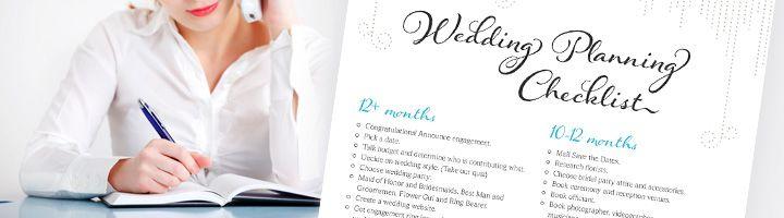 Wedding Planning Checklist | Free PDF Wedding Checklist