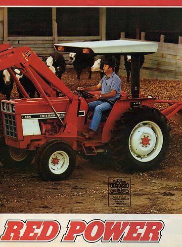 1980 International Harvester IH 484 Tractor w 2200 Front End Loader 2 ...