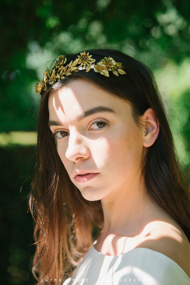 Elizabeth Stuart Rosemary Gown featured in Naturae Design Summer 2015 Lookbook. Image by Chymo More #elizabethstuart
