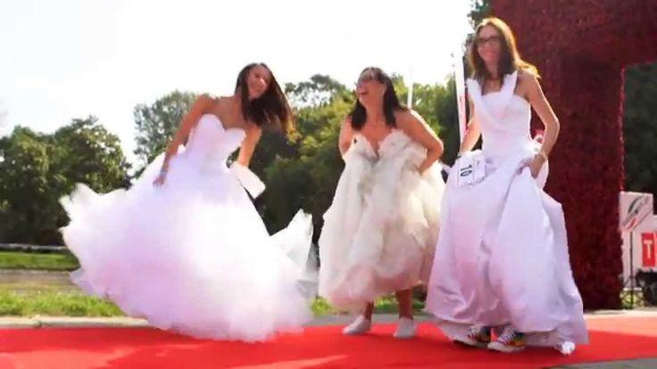 II Bieg w sukniach ślubnych - 13.09.2015