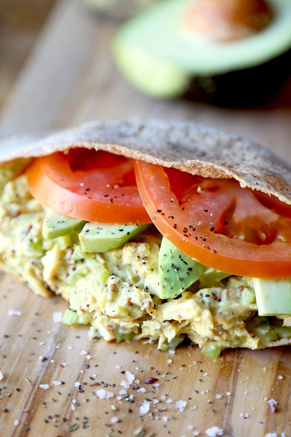Tuna Sandwich Recipe - This is the ultimate tuna sandwich - crunchy, savory, tangy and creamy, it has it all plus an added pinch of turmeric for extra health! Perfect for lunch at work or home. Healthy, easy recipe   pickledplum.com