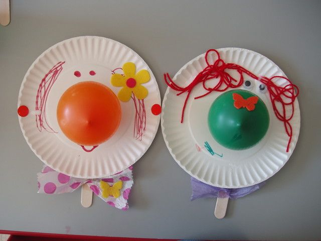 preschool clowns craft