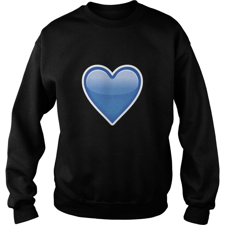 BLUE HEART Emoji shirt, Order HERE ==> https://www.sunfrog.com/Funny/BLUE-HEART-Emoji-shirt-SweatShirt-Black.html?54007, Please tag & share with your friends who would love it, #renegadelife #birthdaygifts #christmasgifts