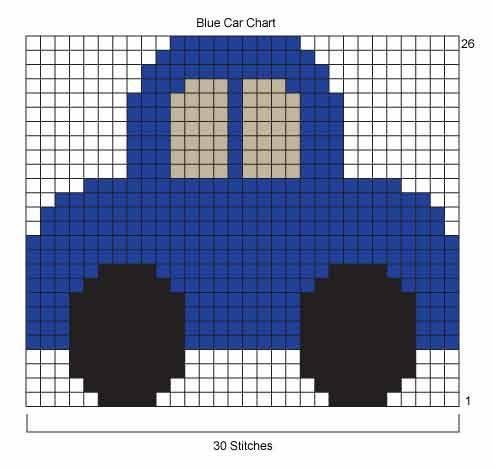 fair isle knit chart