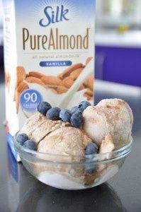 Clean Eating Dessert. Only 4 ingredients: almond milk, frozen bananas, vanilla, and cinnamon. - trimhealth.info