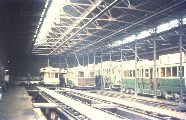 Bendigo workshops c.1972