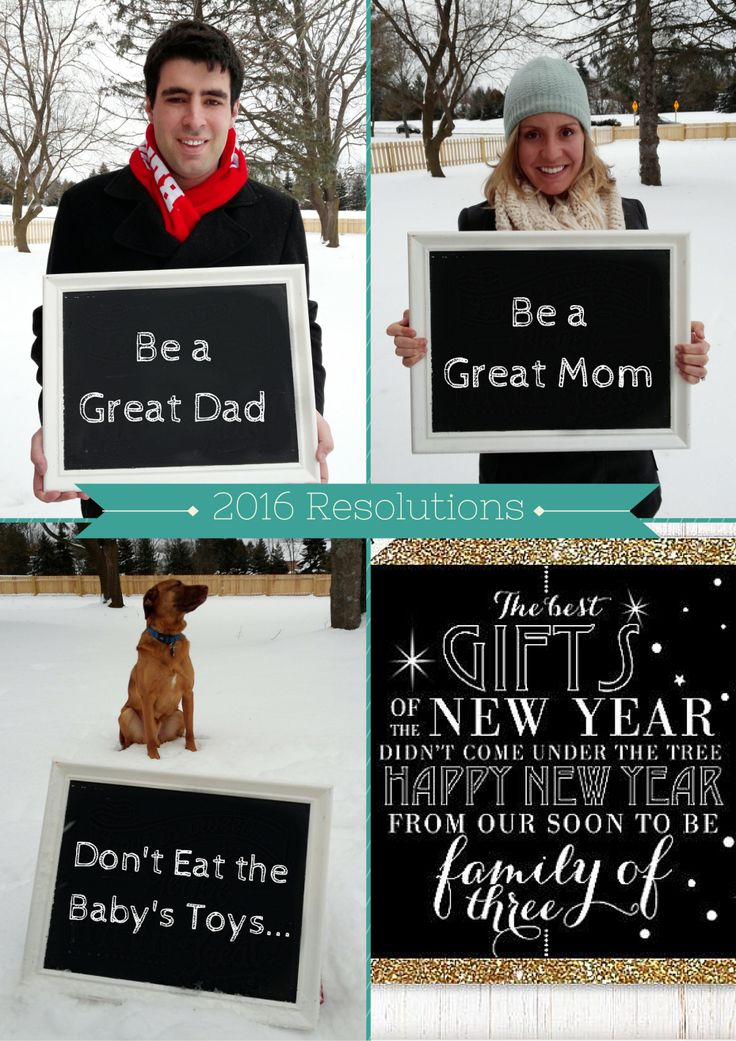 New Year's Baby Announcement