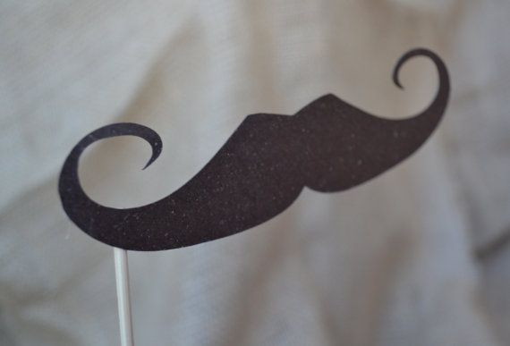 mustache on a stick: Ideas, Receptions, Sticks, Fun, Products, Mustaches