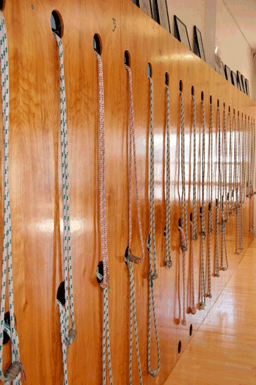 78 best images about yoga rope walls on pinterest san for How to make a rope wall