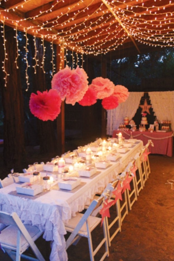 Love An Outside Celebration Baby Shower With A Twist Teen Party Or Wedding