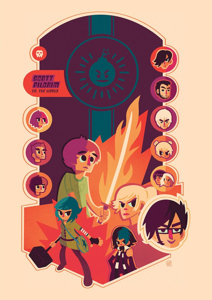 scott pilgrim comic ebook