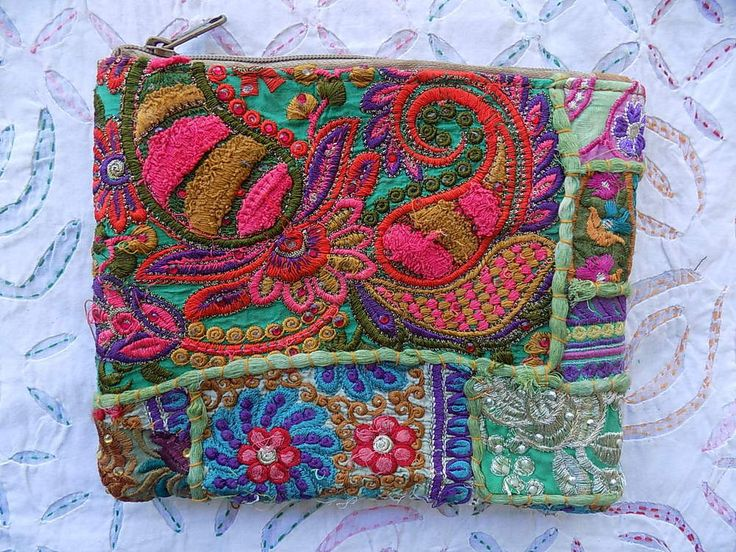 PURSE BANJARA INDIAN VINTAGE CLUTCH PATCHWORK BAG HANDMADE BAG sm683 #Handmade #Clutch