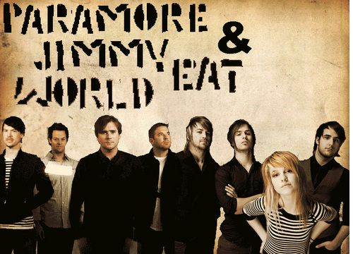 Awesome show with Paramore & Jimmy Eat World