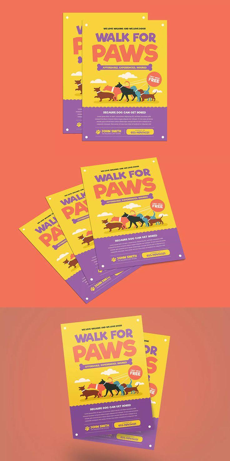 best 25 dog walker flyer ideas on pinterest dog walking flyer dog walking business and dog. Black Bedroom Furniture Sets. Home Design Ideas