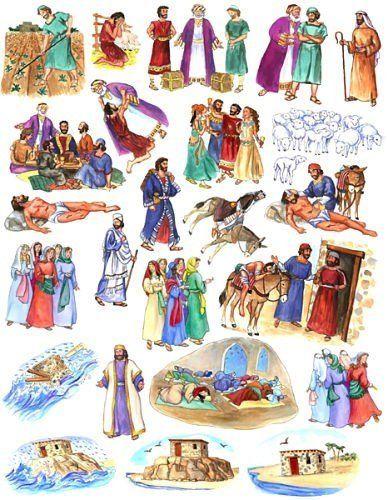 The Parables of Jesus Felt Figures for Flannel Board Bible Stories-precut by Story Time Felts, http://www.amazon.com/dp/B005BLYEJQ/ref=cm_sw_r_pi_dp_7nanqb1M40VX9