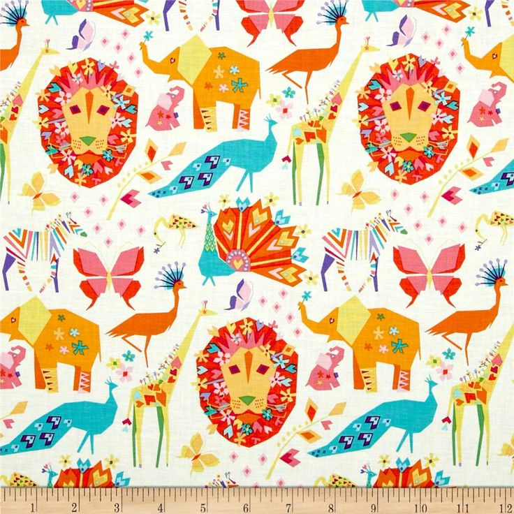 Michael Miller Oragami Oasis Pride Candy from @fabricdotcom  Designed by Tamara Kate for Michael Miller, this cotton print fabric is perfect for quilting, apparel and home decor accents. Colors include pink, orange, white, aqua, blue, turquoise and brown.
