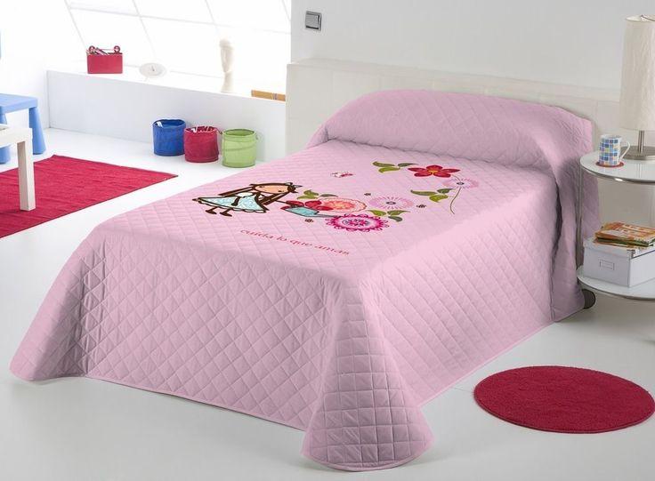 IGÜI Colcha Bouti multipunto ALICIA FLORES Cama/Bedding Quilt Bed Bedspread