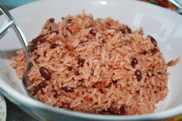 Aros moro (rijst met bonen)
