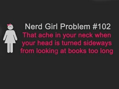 #102 - That ache in your neck when your head is turned sideways from looking at books too long