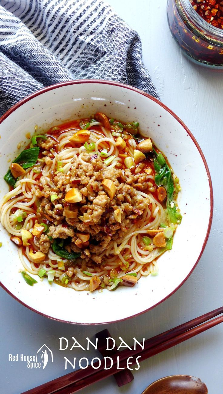 Dan Dan Noodles | Red House Spice