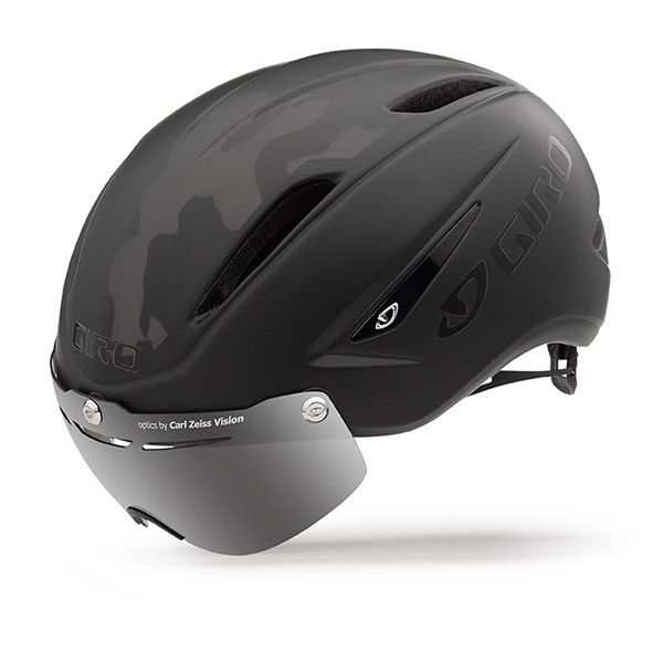 Air Attack with shield road racing TT/Bicycle/Cycling Helmet New Blk/Camo MD #Giro