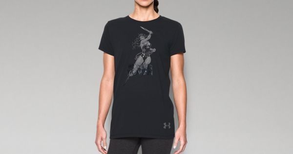 Women's Under Armour® Alter Ego Wonder Woman Photoreal T-Shirt