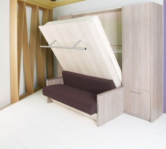 Oltre 25 fantastiche idee su letti salvaspazio su pinterest telaio di letto fai da te camera - Letto a parete a scomparsa ...