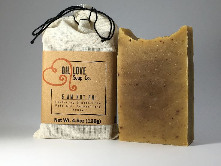 Because everyone likes beer in their soap ;) Along with oats, honey and aloe vera juice, this soap will make for happy skin with the benefits each provide (including the hops from the beer!). It has the smell of a warm, carmelized honey oatmeal.