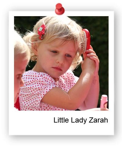 Little Ladybags Daisy Hair Clip - Be a day dreamer