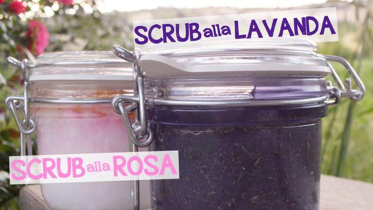 SCRUB ALLA ROSA & SCRUB ALLA LAVANDA FATTO IN CASA DA BENEDETTA