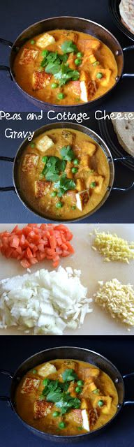 Hello guys.!! It's a low fat, ready in under 30 minutes matar paneer masala(peas with cottage cheese) today. You will love how easy, quick and delicious it is!